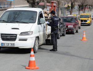 Erzurum, Erzincan, Ardahan ve Iğdır'da sokağa çıkma kısıtlaması nedeniyle sessizlik hakim