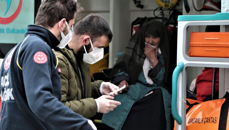 Erzurum'da Kovid-19 testi pozitif çıkınca damadının eve almadığı Ulu nine için ekipler seferber oldu