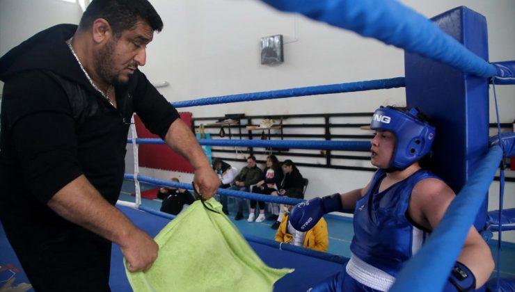 Farklı branşlarda 9 Türkiye şampiyonluğu bulunan Senanur Kocaoğlu'nun hedefi boksta dünya şampiyonluğu: