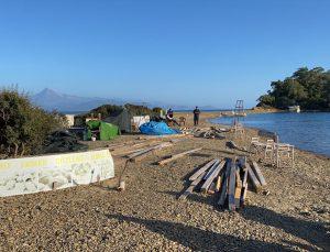 Fethiye'deki Yassıca Ada'da bulunan kaçak yapı yıkıldı