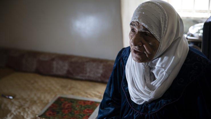 Filistin'de 73 yıl önce gerçekleştirilen Deyr Yasin katliamının şahidi Meryem nine yaşadıklarını AA'ya anlattı