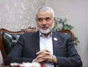 Hamas lideri Heniyye, seçimleri kazansalar bile ulusal uzlaşı hükümetinden yana olduklarını söyledi
