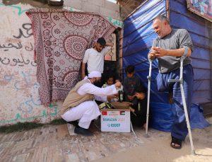 İnsana Değer Veren Dernekler Federasyonu, Gazze ve Yemen'de 1000 aileye gıda kolisi dağıttı