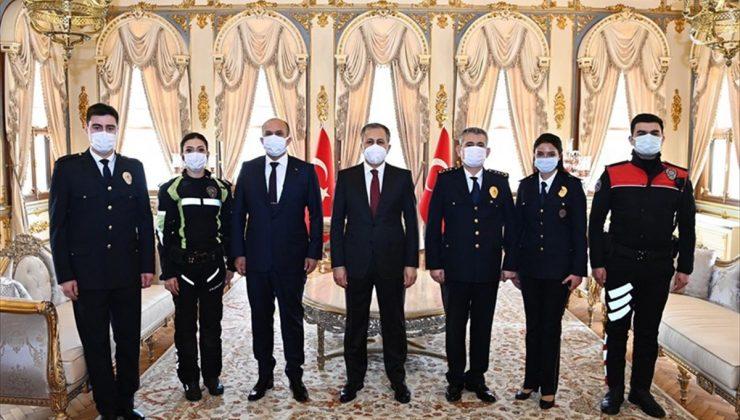 İstanbul Emniyet Müdürü Zafer Aktaş Vali Ali Yerlikaya'yı ziyaret etti