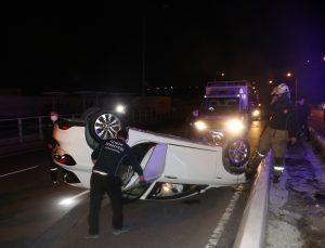 İzmir'de meydana gelen trafik kazasında 1 kişi yaralandı