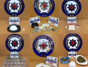 İzmir'deki uyuşturucu operasyonlarında 14 şüpheli tutuklandı