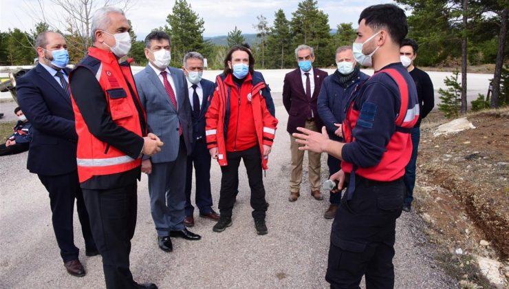 Kastamonu Valisi Çakır, bir hasta ziyaretinden 42 Kovid-19 vakası tespit edildiğini söyledi