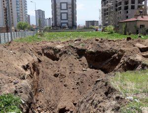 Kayseri'de inşaat kazısında lahit bulundu