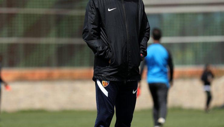 Kayserispor, Antalyaspor maçı hazırlıklarını sürdürdü
