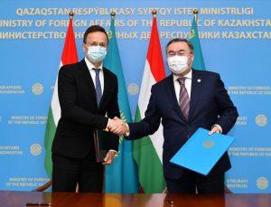 Kazakistan ve Macaristan karşılıklı iş birliğini genişletecek