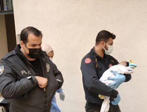 Kocaeli'de apartman önünde terk edilmiş bebek bulundu