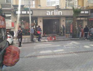 Manisa'da iş yerinde çıkan yangın hasara neden oldu