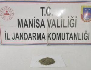 Manisa'da uyuşturucu operasyonunda 1 kişi yakalandı