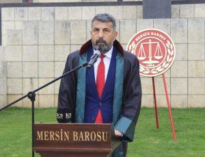 """Mersin Barosu Başkanı Yeşilboğaz'dan, Biden'ın 1915 olaylarını """"soykırım"""" olarak nitelemesine tepki:"""
