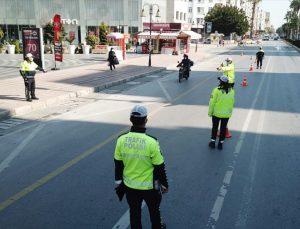Mersin'de hız denetiminde 195 sürücüye para cezası kesildi