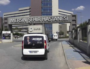 """Mersin'de kanser hastaları """"Onko-Büs"""" hizmetiyle hastaneye götürülüyor"""