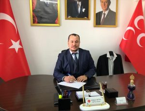 MHP Datça İlçe Başkanı Gökhan Akyel, Alparslan Türkeş'i ölümünün 24. yılında andı