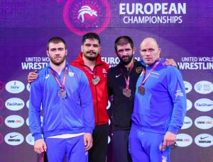 Milli güreşçi Taha Akgül, 8. kez Avrupa şampiyonu oldu