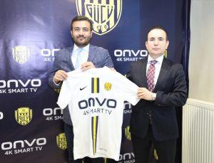 MKE Ankaragücü ile ONVO arasında sponsorluk anlaşması imzalandı