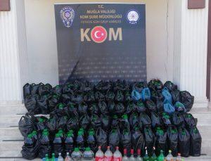 Muğla'da sahte içki ve kaçakçılık operasyonunda 26 şüpheli yakalandı