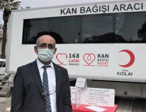 Ödemiş İlçe Halk Kütüphanesi çalışanları, kan bağışında bulundu