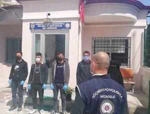 Osmaniye'de yurda yasa dışı yollardan giren 5 Suriyeli yakalandı