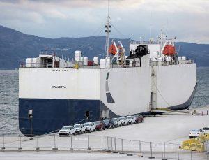 OYAK'ın otomotiv odaklı Ro-Ro limanına ilk sefer gerçekleşti