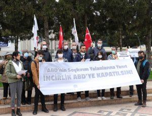 """Sakarya ve Zonguldak'ta ABD Başkanı Biden'ın 1915 olaylarını """"soykırım"""" olarak nitelemesi protesto edildi"""
