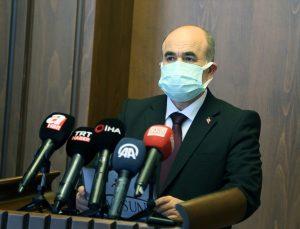 Samsun Valisi Dağlı, kentte 455 bin doz Kovid-19 aşısı yapıldığını bildirdi