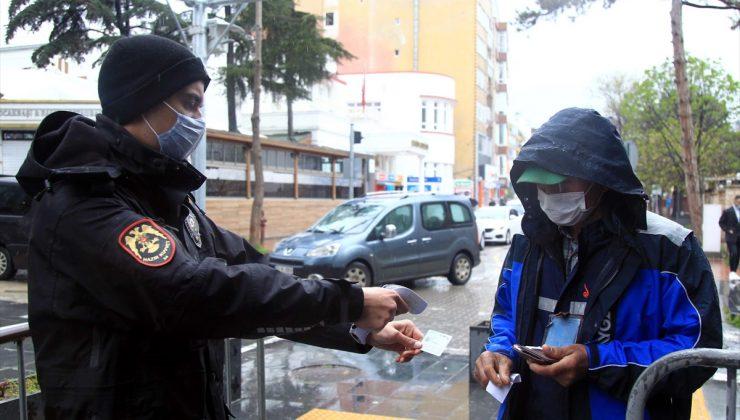 Samsun'da Kovid-19 izolasyon kurallarını ihlal eden 14 kişi hakkında işlem yapıldı