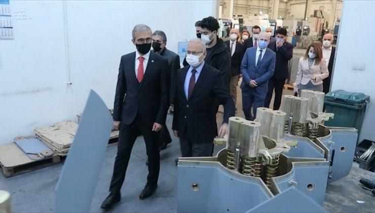 Savunma Sanayii Başkanı İsmail Demir, Ankara 1. OSB'yi ziyaret etti:
