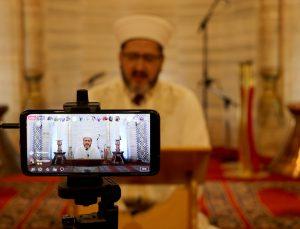 Selimiye Camisi'ndeki mukabeleler salgın tedbirleri kapsamında canlı yayınla takip edilecek