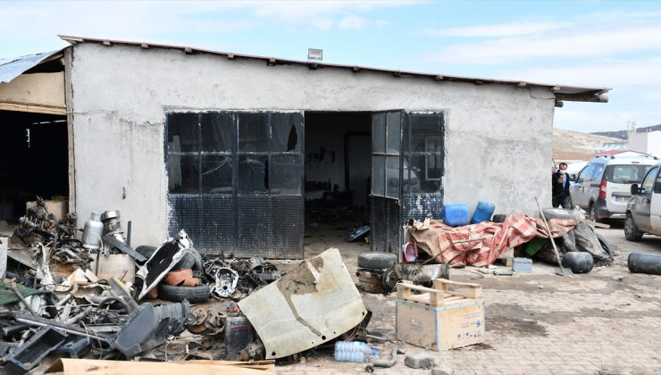 Sivas OSB'de geri dönüşüm alanında patlama: 5 yaralı