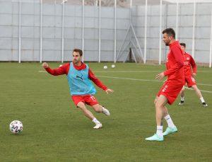 Sivasspor, Beşiktaş maçının hazırlıklarına başladı