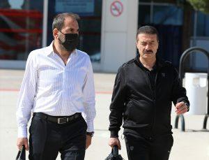 Sivasspor kafilesi Denizli'ye gitti