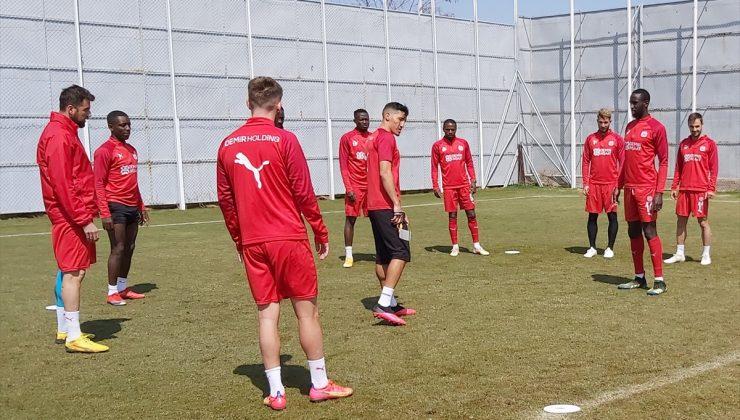 Sivasspor, Konyaspor maçının hazırlıklarını sürdürdü