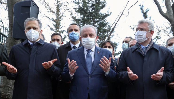 TBMM Başkanı Şentop, Mareşal Fevzi Çakmak'ın vefatının 71. yılı dolayısıyla düzenlenen törende konuştu: (1)
