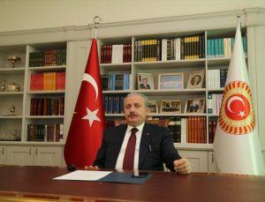 TBMM Başkanı Şentop, Uluslararası Barış ve Güveni Güçlendirmede Parlamenterlerin Rolü Toplantısı'na katıldı: