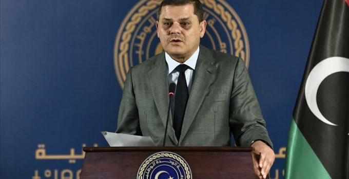 """Libya Başbakanı Dibeybe: """"Libya, Türkiye ve Yunanistan'ın haklarının korunmasının önemini vurguluyoruz"""""""