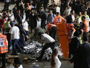 İsrail'de bayram kutlamaları sırasında facia: Çok sayıda ölü var