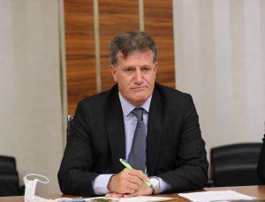 Ticaret Bakanı Muş, KKTC Başbakan Yardımcısı Erhan Arıklı ile görüştü: