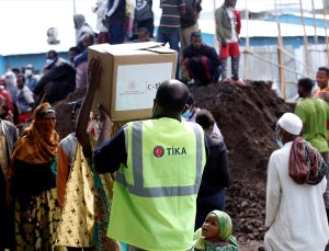 TİKA, Etiyopya'da ihtiyaç sahiplerine ramazan yardımında bulundu