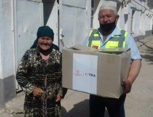 TİKA, Özbekistan'daki ihtiyaç sahibi 4 binden fazla aileye gıda yardımı yaptı