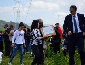 TİKA'dan Arnavutluk'taki ihtiyaç sahibi ailelere tohum yardımı