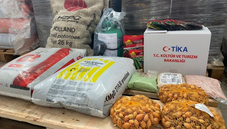 TİKA'dan Bosna Hersek'in kırsal bölgelerinde yaşayan ailelere tarımsal destek