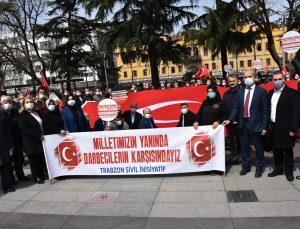 Trabzon'da 54 STK'den bazı emekli amirallerin açıklamasına tepki