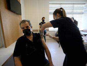 Trakya'da Kovid-19'la mücadelede BioNTech aşılarının ikinci dozu uygulanmaya başlandı