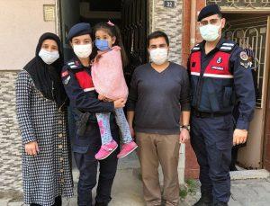 Turgutlu'da kaybolan 5 yaşındaki kız çocuğu, 2 saat sonra bulundu