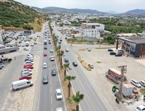 """Turizm merkezi Bodrum'da """"tam kapanma"""" öncesi yoğunluk arttı"""