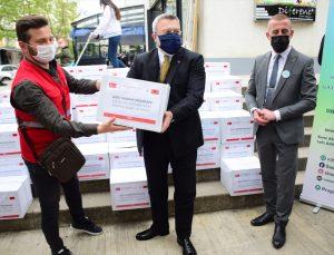 Türk Kızılay, Arnavutluk'taki ihtiyaç sahiplerine ramazan yardımı yaptı